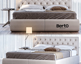 Berto Tribeca Bed 3D