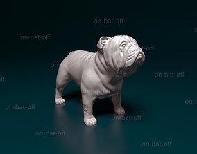 3D printable model Bulldog