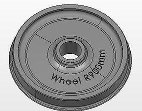 3D Wheel R900mm