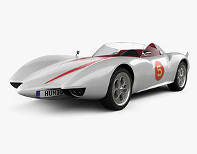 Speed Racer Mach 5 1997 3D model