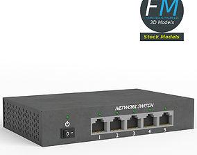 3D model Network switch