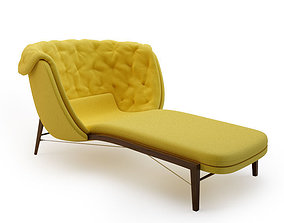 CLEO Lounge chair By ROSSIN 3D model