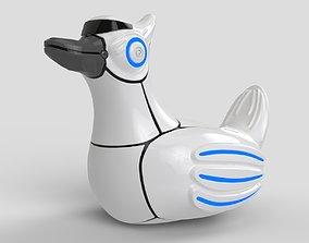 3D Robot Duck