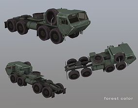 3D model MIM-104 Patriot M983 Tractor