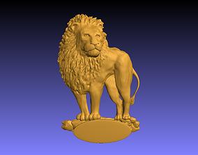 interior Lion Wall Decor 3D print model