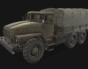 Ural 4320 3D model VR / AR ready