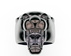 3D print model mountain Ring Panther