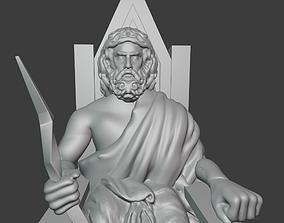 Zeus The Greek 3D print model