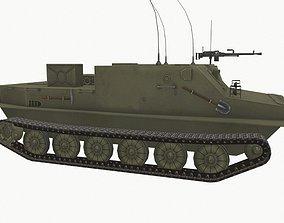 BTR-50pk 3D model