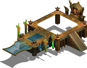 Tomb - the main platform 3D