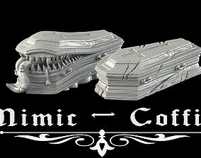 3D print model Mimic coffin