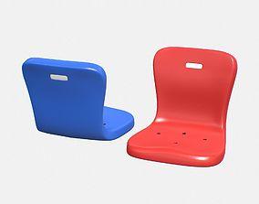 Stadium Seat 2 3D asset
