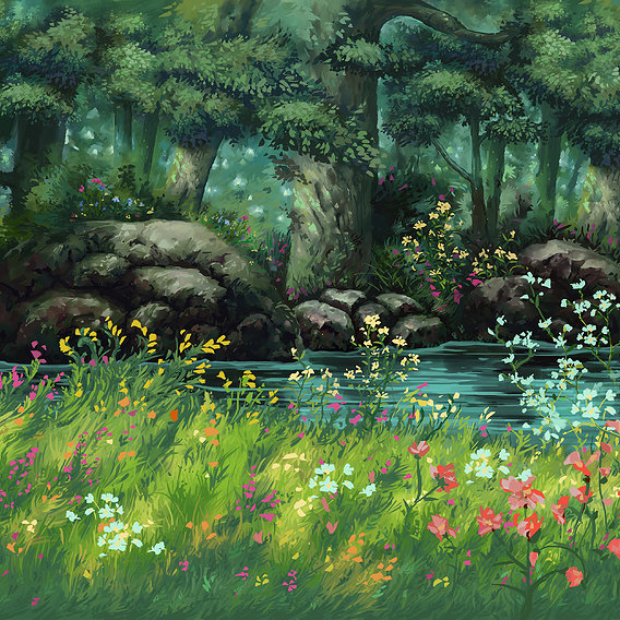 Ghibli study Day 20190502
