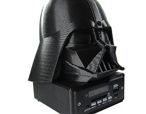 3D print model DARTH VADER - Bluetooth USB SD MMC MP3 3