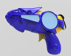 blaster water gun 3D model