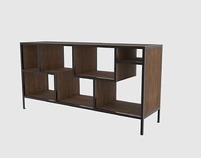 PBR furniture tv asymmetrical 3d model