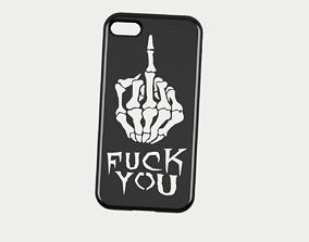 3D CARCASA IPHONE 7-8 FUCK YOU