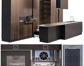 AVE Ernestomeda Emetrica kitchen and Barazza 3D model