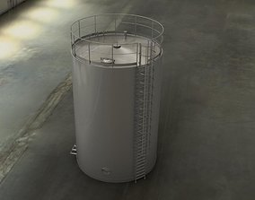 pipes Water Tank 3D model
