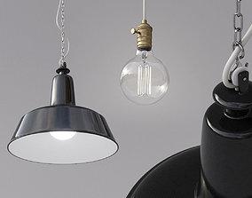 3D Industrial Pendant Lamp