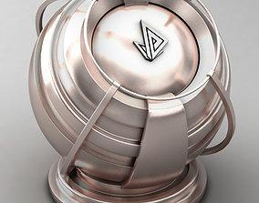 VRAY SHADER---METAL---Tantalum 3D model