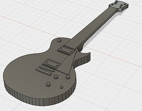 3D print model Guitar Les Paul
