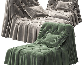 Bohemien armchair by Busnelli 3D model