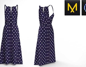3D model Polka Dot Dress