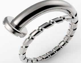 Screw Ring 3D print model