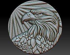 Eagle 3D print model nature