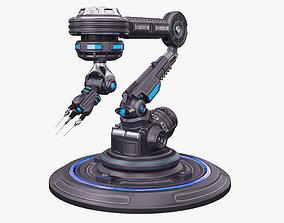 3D model Robotic Arm 03