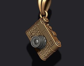 3D printable model photo camera pendant roll