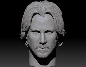 John Wick Keanu Reeves 3D Print figurines