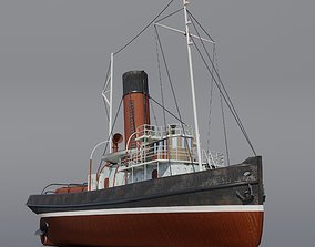 3D model Tugboat Jofree
