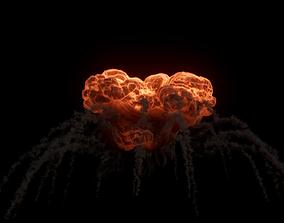 Trail Explosion Houdini 3D