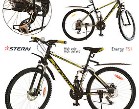3D model pedal Bicycle Stern Energy FS1