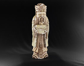 Decoration - Chinese Statue 01 - 3D asset