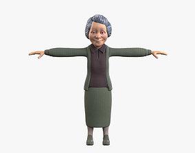 Grandma 3D asset