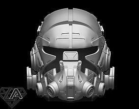 TitanFall 2 Pilot Sci fi 3D printable model