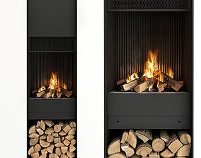 3D model Fireplace and Firewood 48