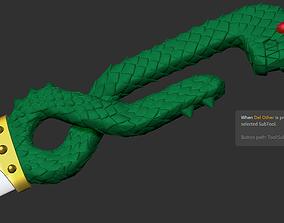 Meliodas sword Dragon Handle seven deadly 3D print model