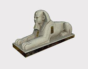 3D Gold Sphinx Crystalpalace