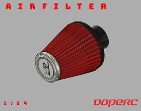 3D printable model 1to10 RC Air Filter KN scale