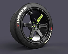 Volk TE37 Racing Wheels and 3D print model