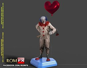The Evil Clown - A Creepy Figure Printable