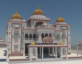 light 3D Indian Temple ISK