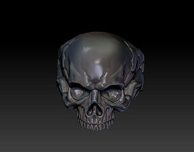 Ring of skull head 3D print model