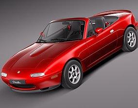 Mazda MX-5 Miata 1989 - 1997 3D Model