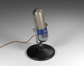 3D model Vintage Microphone