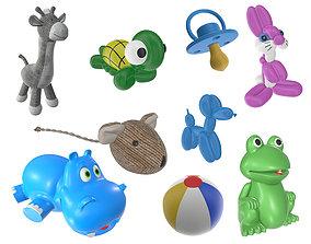 Children toys 03 3D model